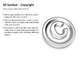 3D Symbols - Copyright 2