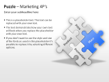 Puzzle Marketing 4Ps 1 german