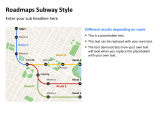 Roadmap Subway Style 014