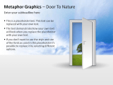 Metaphor Graphics - Door To Nature 2