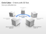 3D Circle Cubes