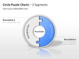 Circle Puzzle Charts