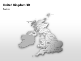 United Kingdom 3D - Regions 1 german