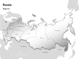 Russia - Regions 1 german