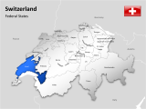 Switzerland - Federal States 1 german