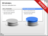 3D Cylinders Bundle