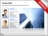 Contact and Thank You Slides Bundle