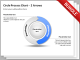 Circle Process Arrows Bundle