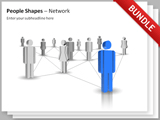 People Shapes - Network Bundle