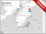 Germany Map Bundle english