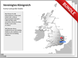 United Kingdom Map Bundle english