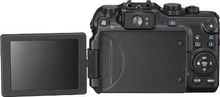 Canon Powershot G12-atrás