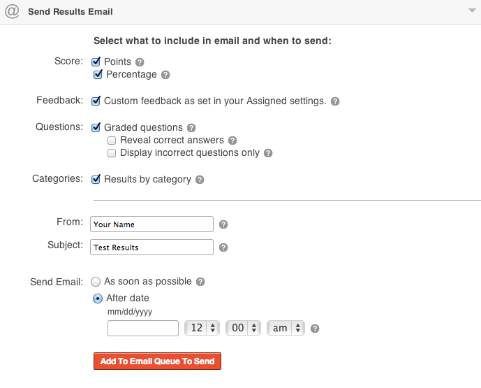 ClassMarker online testing