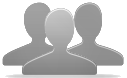 Icon image of a group of users