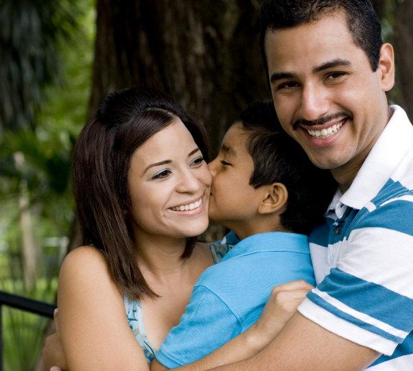 Una familia unida siempre será un ambiente propicio para un niño