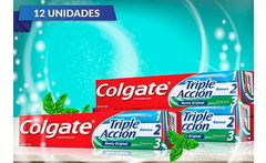 Pack de 12 Colgate Triple Acción de 50 GR - Cuponatic