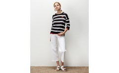 Sweater stripes heart kazan - portsaid - Dressit