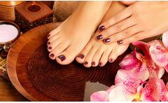 Spa de pies con esmaltado permanente - Groupon
