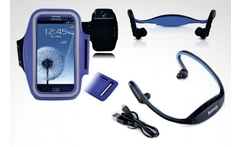 Kit de funda de gimnasio + diadema bluetooth para samsung galaxy - Groupon