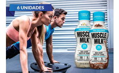 Pack 6 Botellas Proteína Muscle Milk 355 ml a Elección - Cuponatic