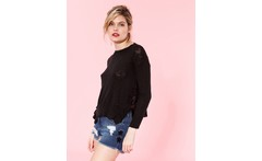 Sweater flama lurex - desiderata - Dressit