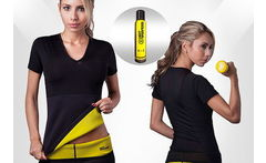 Faja Camiseta Mujer Hot Shapers + Gel Aerosol 3 en 1 - Cuponatic