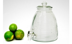 Dispensador de bebidas en vidrio - Groupon