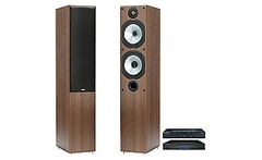 Cambridge Audio Amplificador Topaz AM5 + Cd Player Topaz + Parlantes Columna MR4 - Falabella