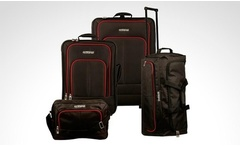 Set de 4 maletas American Tourister® by Samsonite negras. Incluye envío - Groupon