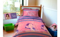 Cobertor Single Modelo Violetta Disney - Cuponatic