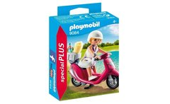 Playmobil Special Plus - Mujer Con Moto Scooter - 9084 - Linio
