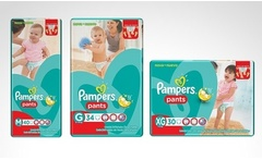 Pack de 3 paquetes de pañales Pampers Pants talla M, G o XG. Incluye despacho - Groupon