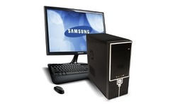 Pc internet completa amd dual core hdmi 4gb con monitor 19 led - Avenida