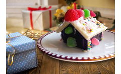5 Casitas Navideñas de Chocolate - Cuponatic