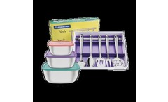 Kit Recipientes Freezinox + Utensilios Inox Cocina - Tramontina