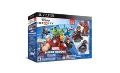 Starter Pack Marvel Super Heroes 2.0 Ps3 Disney - Garbarino