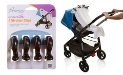 Clips para coche StrollerBuddy color negro marca Dreambaby - Groupon
