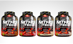 Nitro tech perform 4lb marca muscletech en sabor a elección - Groupon