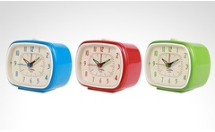 Reloj despertador retro Cosmos en color a elección - Groupon