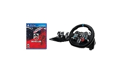 Logitech Volante Force Racing +Drive Club PS4 - Falabella