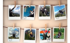 Vuelo en parapente para uno o dos + fotos + video con 34% off - Groupon