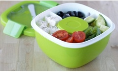Lonchera para ensaladas con compartimientos Bent Go Salad Carrier. Incluye despacho - Groupon