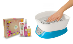 Parafina spa plus homedics + set de fragancias de obsequio - Groupon