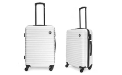 Maleta mediana F New Orleans color blanco - Groupon