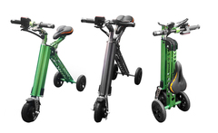 Bicicleta eléctrica e-bike plegable en color a elección - Groupon