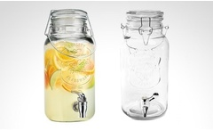 Dispensador Mason Jar Ice para jugos e infusiones. Incluye despacho - Groupon