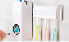 Dispenser de pasta dental + porta cepillo - Groupon