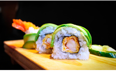 Sushi + delivery - Groupon