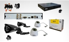 Kit HD cámara DVR DVR.60T4 Fast Link. Incluye despacho - Groupon