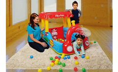 Tren inflable Ball PiT Fisher Price - Cuponatic